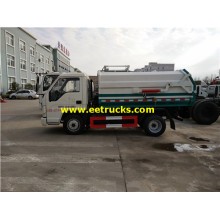 3 CBM Foton Bucket Garbage Trucks