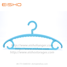 EISHO Recycle Blue Plastic Suit Hangers In Bulk