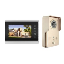 Touch Button Wired Home Video Intercom System