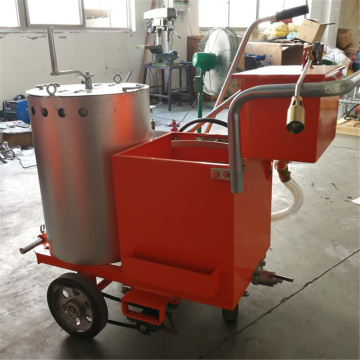 Hand Push Thermoplastic Road Marking Line Painting Machine