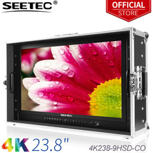 """SEETEC 4K238-9HSD-CO 23.8"""" 4K 3840x2160 UHD Broadcast Monitor for CCTV Monitoring Making Movies Carry-on LCD Monitor"""