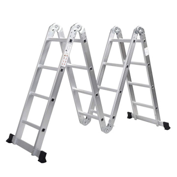 Aluminium multi-purpose scissors ladder
