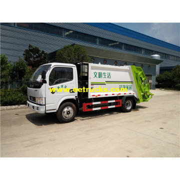 DFAC 4 Ton Compressed Refuse Trucks