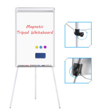 Office and home magnetic writing flipchart easel