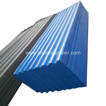 PET-Membrane MgO Anti-aging Insulation Fireproof Roof Sheets