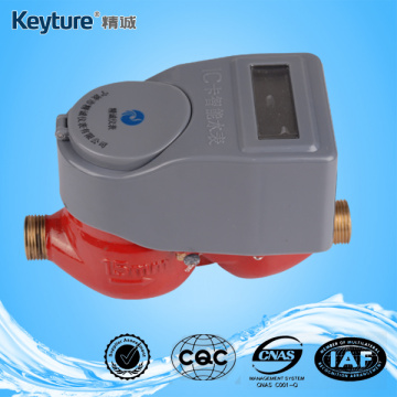 IC Card Hot Water Meter Mechanical sealed valve