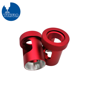 Precision Red Anodizing Aluminum Parts