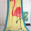 bright color large beach towel with pocket