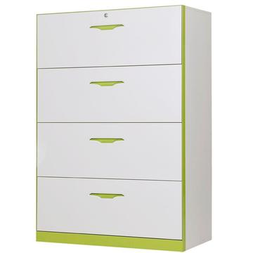 large 4 layers steel lateral filing cabinet