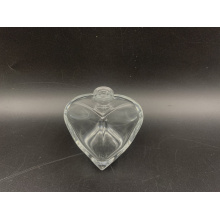 30ml perfume bottle with transparent heart-shaped bottle