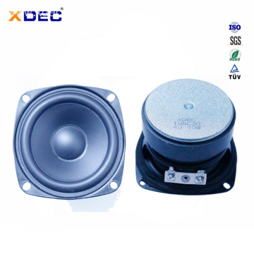 3 inch rubber edge 8ohm 20w midbass speaker