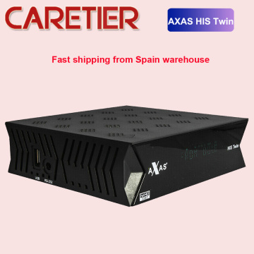 2020 Axas His Twin DVB-S2/S HD Satellite TV Receiver WiFi + Linux E2 Open ATV 6.3 smart tv box replace ZGEMMA box