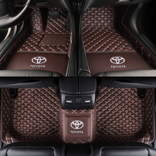 5D Full Covered Leather Car Floor Mats for Toyota All Models