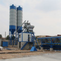 Precast light weight construction concrete mixing plant