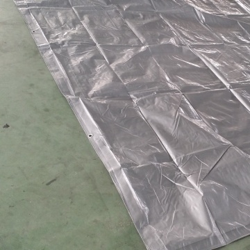 Silver PE Presenning Pool Cover