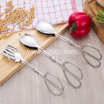 Kitchen Products Silver Stainless Steel Tongs