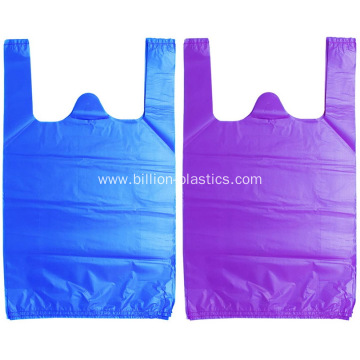 Biodegradable Plastic T Shirt Bags for Packaging
