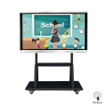 65 Inches UHD Multi-touch Board with mobile stand