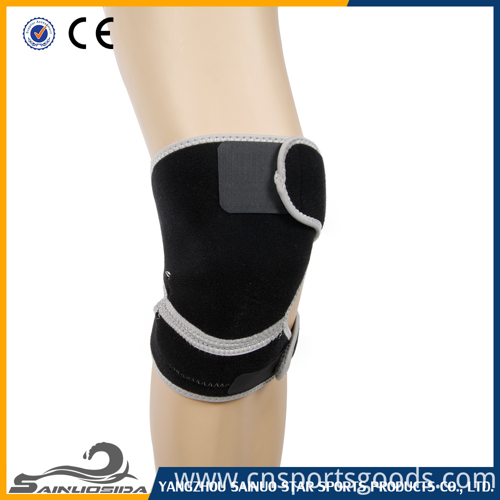 Soft neoprene knee brace
