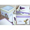 Elegant cake packaging box