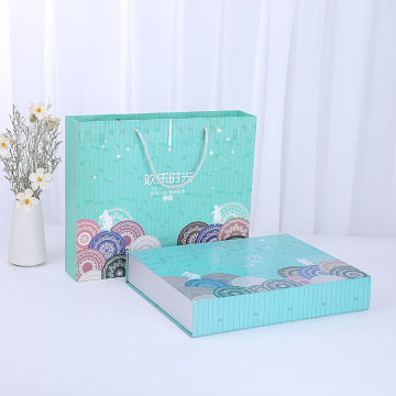 Moon Cake Boxes Bag Food Packaging Tea Box Gift