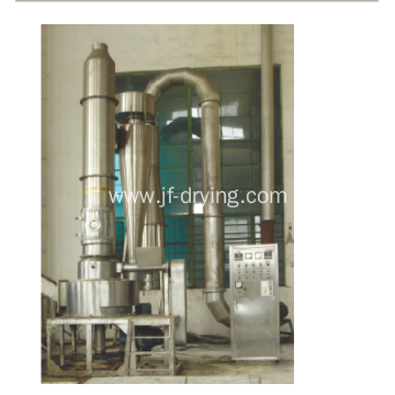 Paste materials Spin flash air drying machine