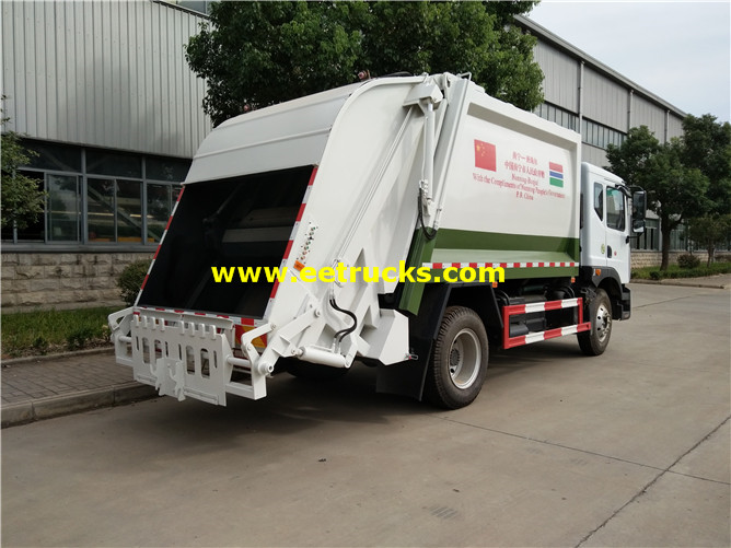Rubbish Compactor Vehicles