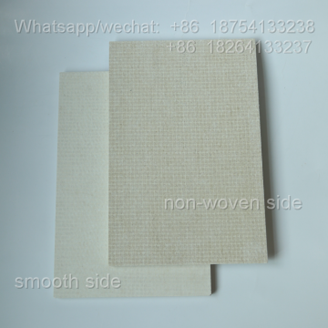 Refractory Rolled back mgo interior wall partitions
