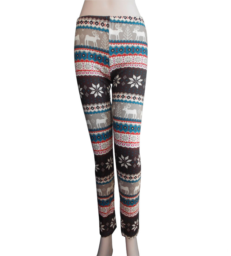 New Lady's 98%polyester 2%spandes Leggings