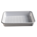 China manufacturer white PS hospital use tray customized disposable