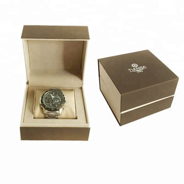 Custom Logo Plastic Watch Package Gift Box