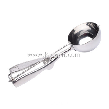 The Best Metal Cookie Scoop with Mirror Finish