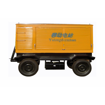 400KW Mobile Trailer Power Generator