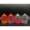 75ml lamp shade transparent glass perfume bottle