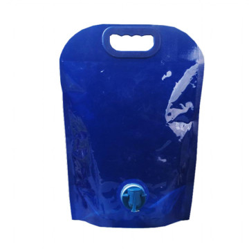 Customized large capacity reusable stand-up pouch