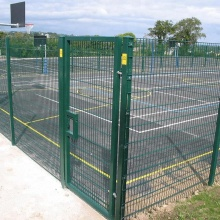 PVC Coated Double Horizontal Wire Fence For Sale