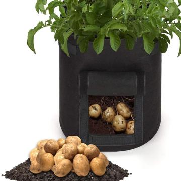 Vegetable Seeds Growing Bags Home Garden Potato Pot Greenhouse Plant Grow Container Bags Vertical Garden Seedling Bag D20