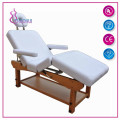 Solid wood massage beauty bed