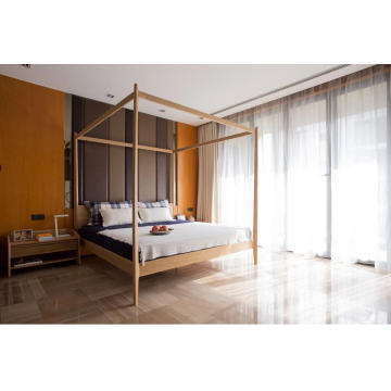 Wooden bedroom furniture Canopy Bed