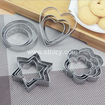 Food 430 Stainless Steel Biscuit Mold
