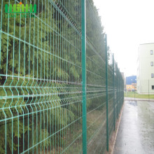 welded wire mesh 3d welded curvy fence panel