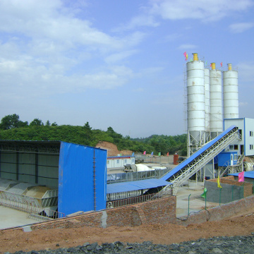 HZS series concrete batching plant 120m3/h stationary type