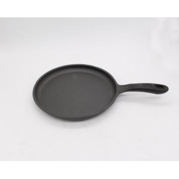 Round Cast-iron Griddle With Sturdy Handle