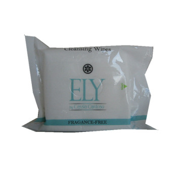 Printed Feature Wet Tissues Cosmetic Removal Wipes