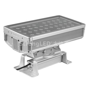 Compact square RGBW Architecture Flood Light CP3-400-AC