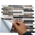 Peel Stick Kitchen Wall Tiles 3D Mosaic Sticker