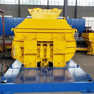 JS shaft automatic conveyor belt concrete mixer