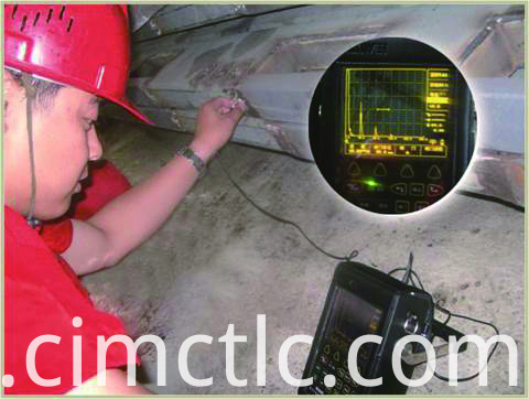 Ultrasonic test for Offshore DNV Rated Generator Container