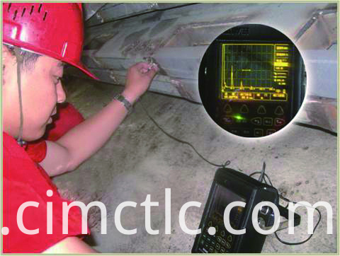 Ultrasonic test for Pressurized Mud Logging Cabin