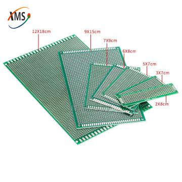 4pcs 5x7 4x6 3x7 2x8 cm 5*7 4*6 3*7 2*8 double Side Copper prototype pcb Universal Board for Ardui
